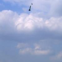 ... Landung selbst bei Wind 5 m von der Startrampe entfernt